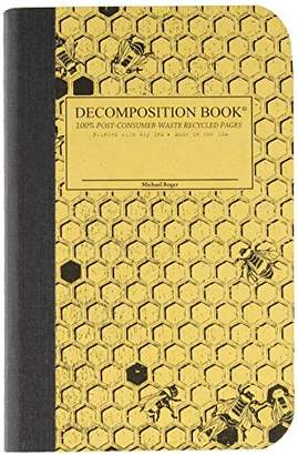 Honeycomb Pocket Sized Decomposition Book: College-ruled Composition Notebook With 100% Post-consumer-waste Recycled Pages