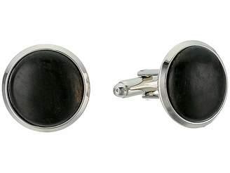 Cufflinks Inc. Black Stain Wood Cufflinks