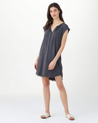 Splendid Crosshatch Drop Shoulder Dress