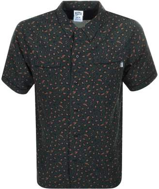 Billionaire Boys Club Leopard Print Shirt Green