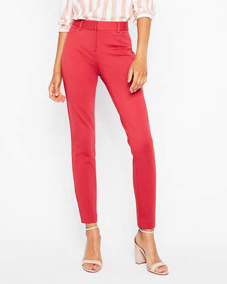 Express Mid Rise Clean Ponte Skinny Pant