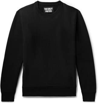 Wacko Maria Printed Fleece-Back Cotton-Jersey Sweatshirt