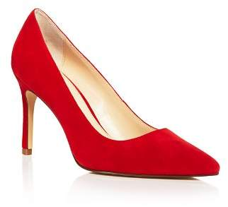 Charles David Women's Denise Suede Pointed Toe High-Heel Pumps