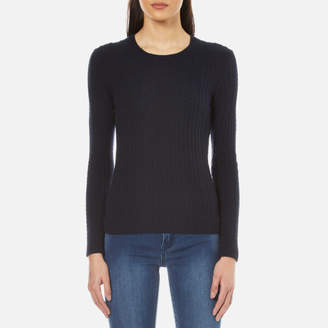 Superdry Women's Luxe Mini Cable Knitted Jumper
