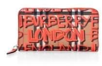 Burberry Vintage Check Graffiti Continental Wallet