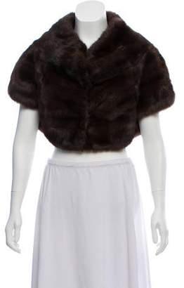 J. Mendel Fur Cropped Bolero
