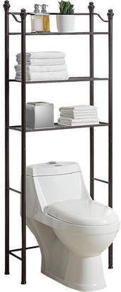 "Three Posts Boatner 24.6"" W x 64.9"" H Over the Toilet Storage"