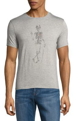 Skeleton Peace Short-Sleeve Tee $78 thestylecure.com