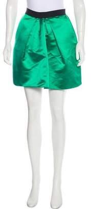 Dolce & Gabbana Satin Mini Skirt