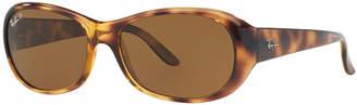 Ray-Ban Polarized Oval Sunglasses