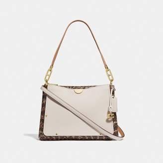 c0f2454388e8 Coach Dreamer Shoulder Bag With Snakeskin Detail