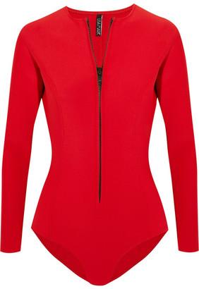 Farrah Neoprene Swimsuit - Red