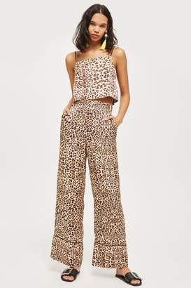 Topshop Animal Print Trousers