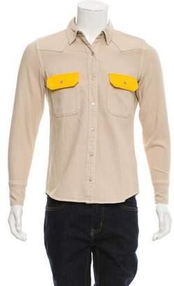 Calvin Klein Jeans Point Collar Twill Shirt