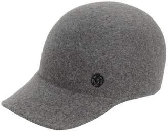 Maison Michel Tiger Rabbit Fur Felt Baseball Hat