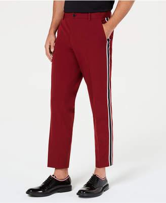 INC International Concepts I.n.c. Men's Slim-Fit Cropped Side-Stripe Pants