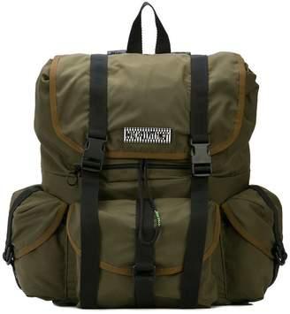 Off-White multi-pocket backpack