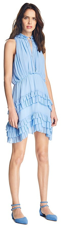 Sandro Bluebird Ruffle Dress - 100% Exclusive 2