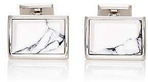 Prada Men's Rectangular Cufflinks - Silver