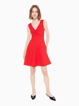 Kate Spade V-neck ponte dress
