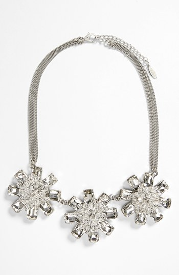 Tasha 'Starburst' Cluster Statement Necklace