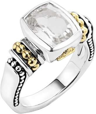 Lagos  Caviar Color  Small Semiprecious Stone Ring 156bddf77d1