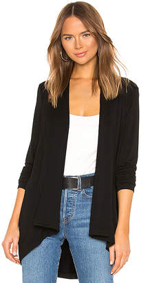 Bobi Terry Draped Cardigan