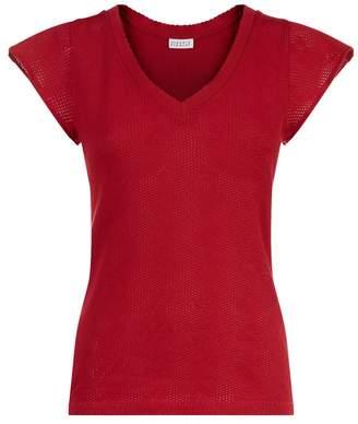 Claudie Pierlot Fine-Knit T-Shirt
