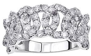 JCPenney FINE JEWELRY CLOSEOUT! 21⁄3 CT. T.W. Looped Diamond Ring