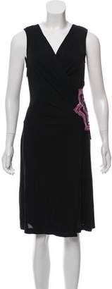 Diane von Furstenberg Embellished Midi Dress