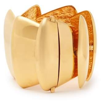 Balenciaga Gold Tone Bracelet - Womens - Gold