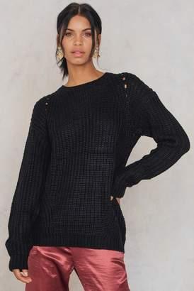 Rut & Circle Rut&Circle Tora sleeve hole knit