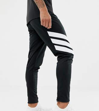 adidas tango skinny soccer sweatpants in black