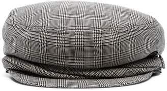 Maison Michel grey Abby silk blend hat