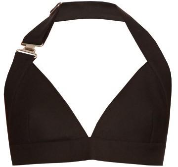 ACNE STUDIOS Suki Wo Si wool and silk-blend bra top