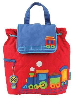 Stephen Joseph Toddler Backpacks, Childrens Red Train Backpack