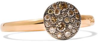 Pomellato Sabbia 18-karat Rose Gold Diamond Ring