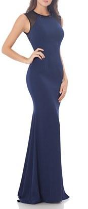 Women's Carmen Marc Valvo Infusion Body-Con Gown $425 thestylecure.com