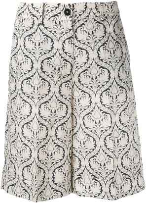 Twin-Set printed shorts $194.78 thestylecure.com
