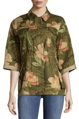 Moncler Printed Cotton Jacket