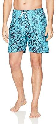 """U.S. Polo Assn. Men's 7"""" Print Swim Shorts"""