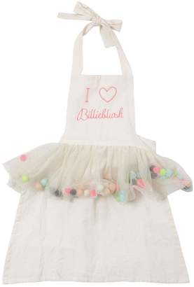 Billieblush Cotton Apron With Pompom Skirt