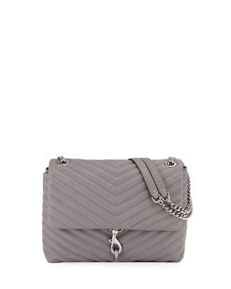 Rebecca Minkoff Edie Quilted Leather Flap Shoulder Bag