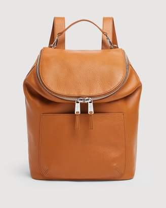 7 For All Mankind Mankind Clutch in Camel