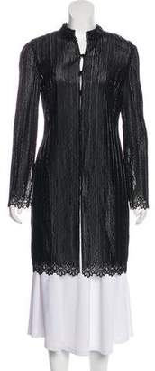 Giorgio Armani Beaded Long Sleeve Cardigan