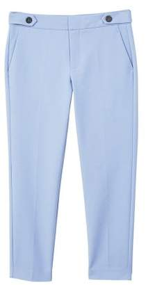MANGO Cropped button pants