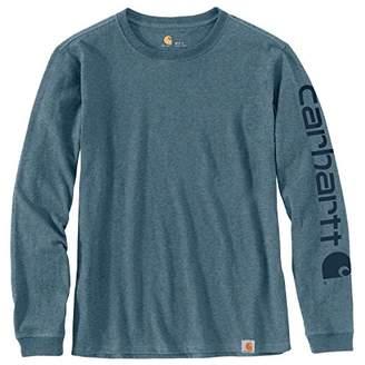 Carhartt Women's Wk231 Workwear Logo Long Sleeve T-Shirt