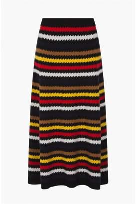 Sonia Rykiel Long Cashmere Skirt