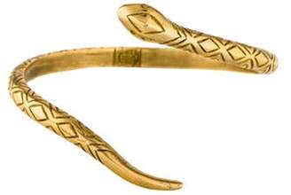 House of Harlow 1960 Snake Cuff Gold House of Harlow 1960 Snake Cuff