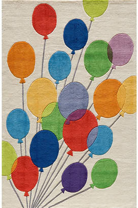 Momeni Lil Mo Multi Balloons Hand Tufted Rectangular Rugs